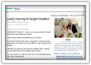News Herald Article about our move to the larger location at Mirabella Square